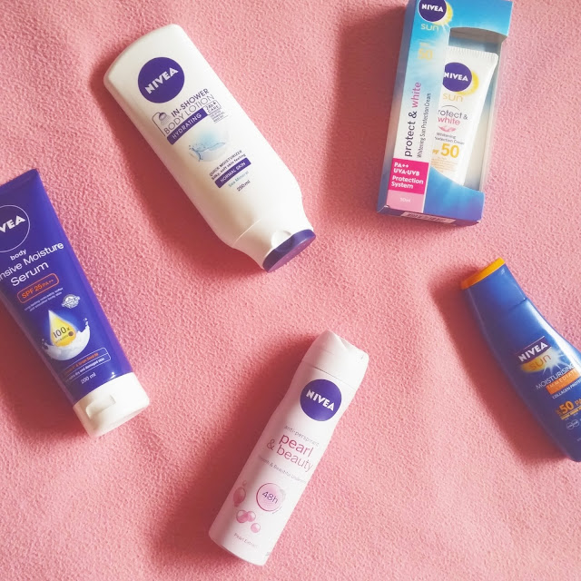 Nivea Skin Care Summer Essentials
