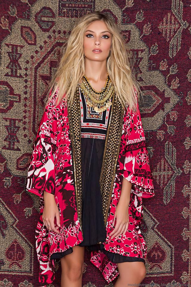 Moda invierno 2016 ropa de moda Sophya, Moda 2016 kimonos y sacos.