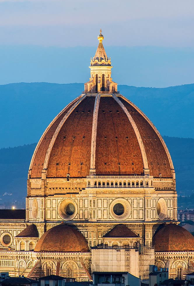 the dome of the Cathedral Maria del Fiore