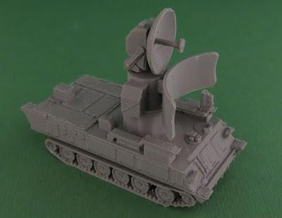 Soviet 1S91 or Straight Flush Radar Vehicle picture 1