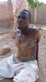 Captured Boko Haram terrorist