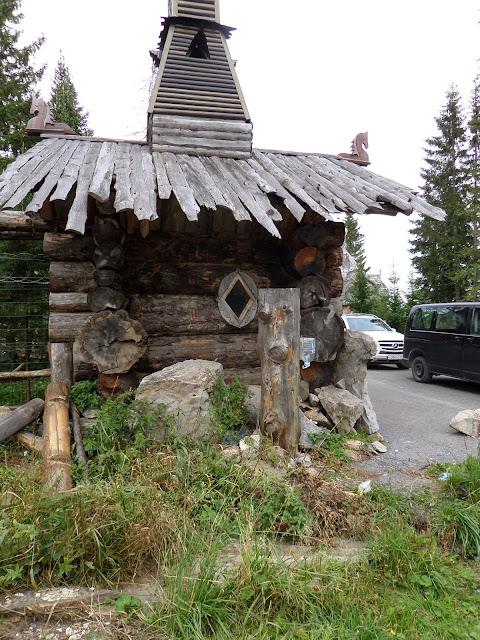 Домик у бывшей Китовой пристани в национальном парке Зюраткуль
