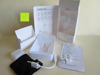 Lieferumfang: LIHAO Iblazr LED Blitz Mini Flash für Smartphone und Kamera 4 Leds (Weiß)
