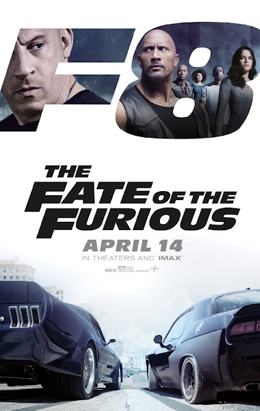 Poster of The Fate of the Furious 2017 Hindi 720p HC HDRip Dual Audio Download