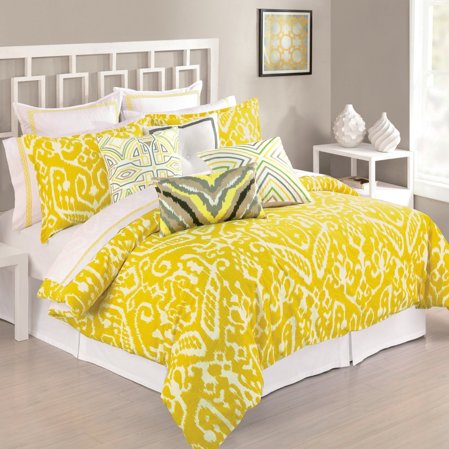Finest Mustard Yellow Comforters and Bedding Sets LW38