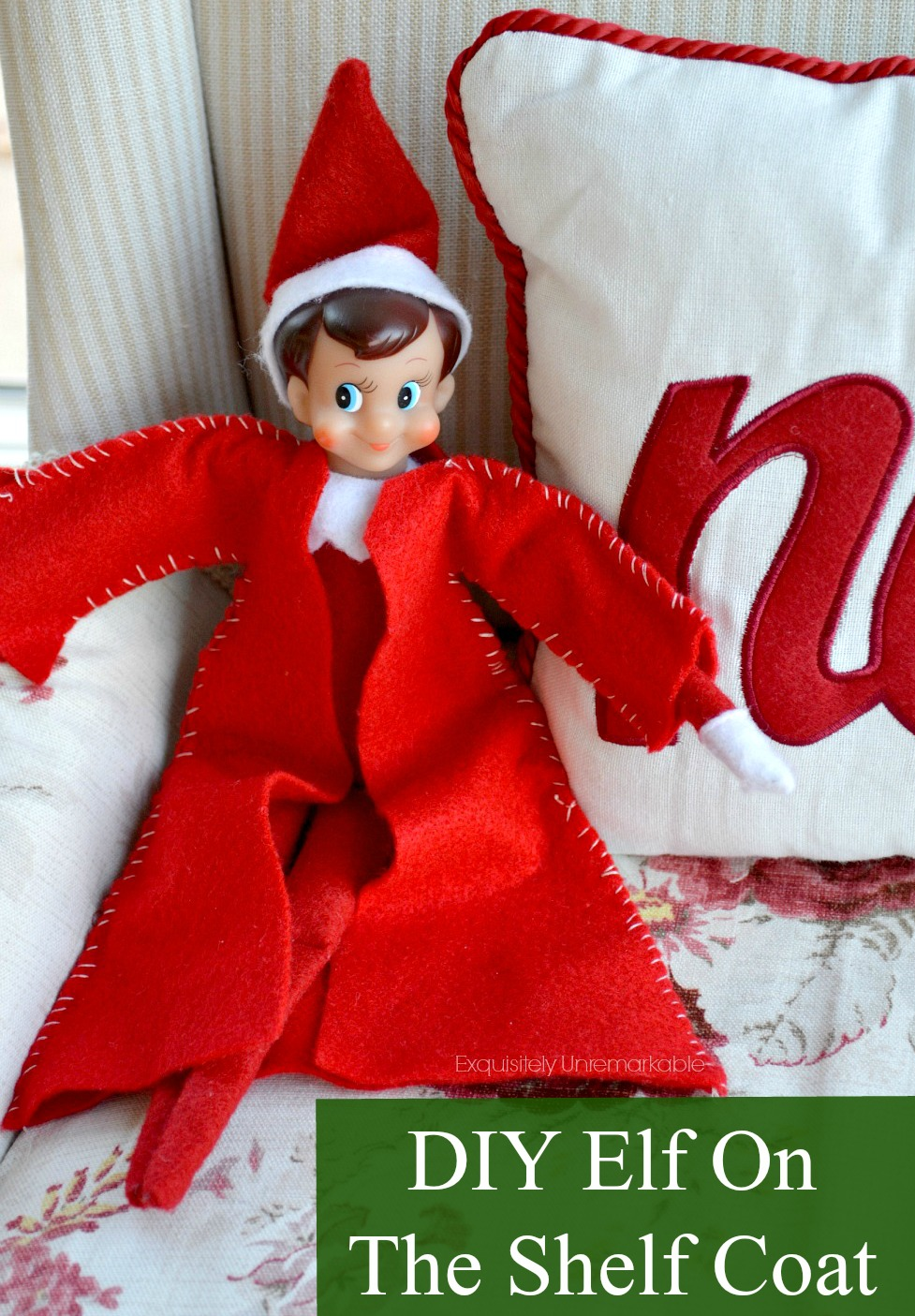Elf On The Shelf Coat