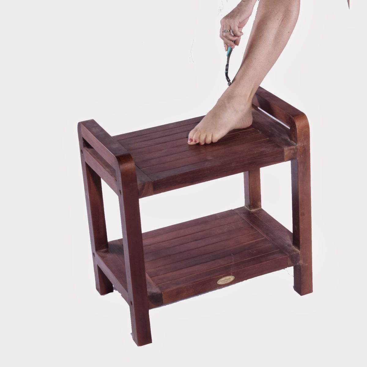 Teak Shower Chairs With Arms Wide Office Chair Great Ideas Bench Solid Bath