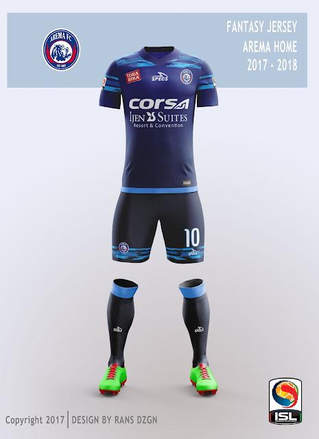 Download fantasy jersey AREMA FC 2017 - 2018 - Faezya Blog
