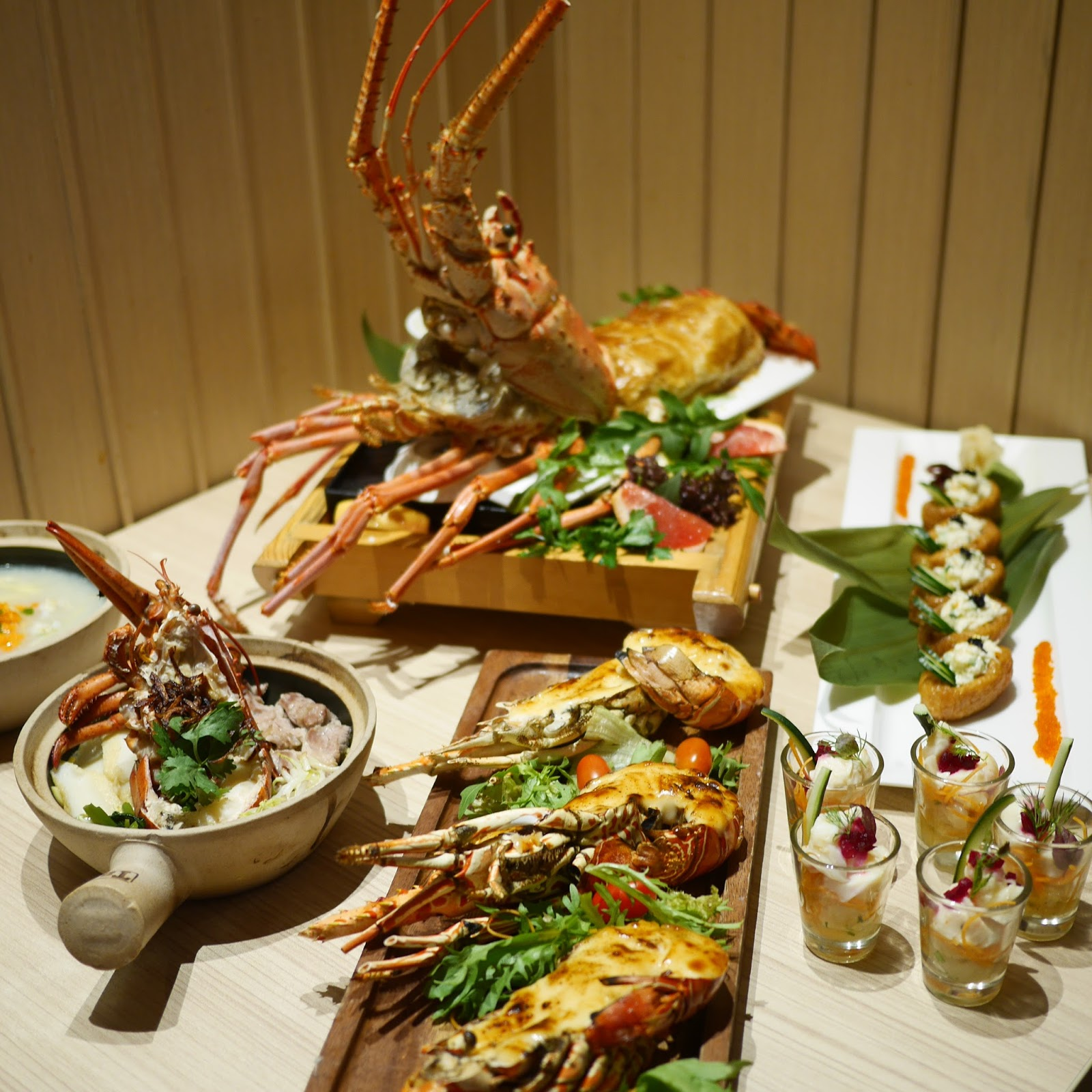 mighty foodie the union of crabs and lobsters buffet parkroyal