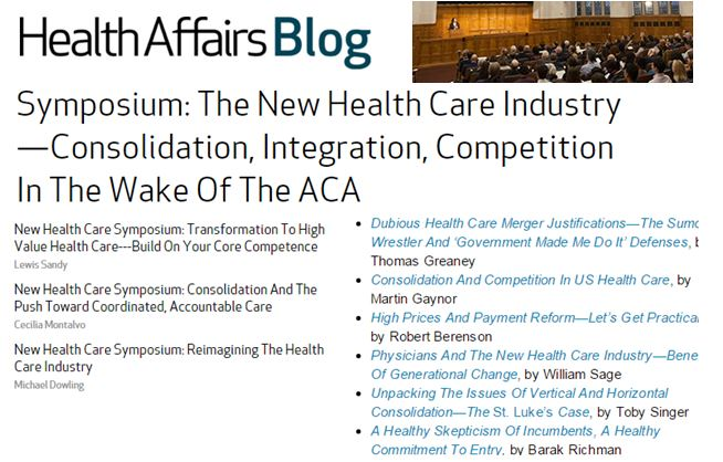 competition in the healthcare industry