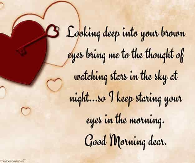 flirty good morning message for husband