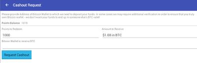 Casho Request Cashout