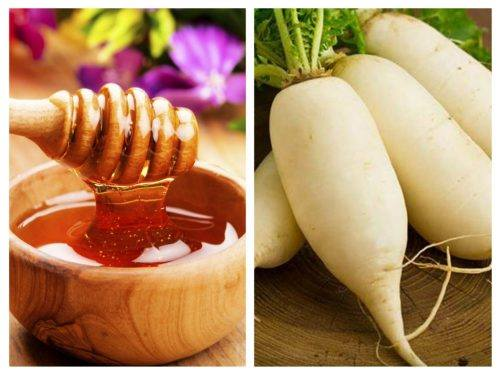 Bài thuốc trị ho ra máu từ củ cải và mật ong