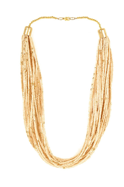 Beaded necklace from Ayesha Accessories