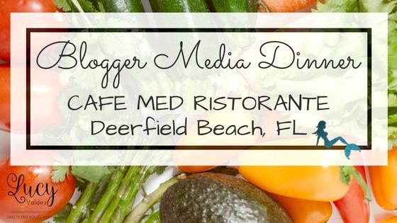 Cafe Med Ristorante Blogger Media Dinner Blog Title