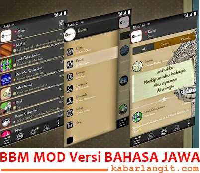 BBM Mod Bahasa Jawa Apk