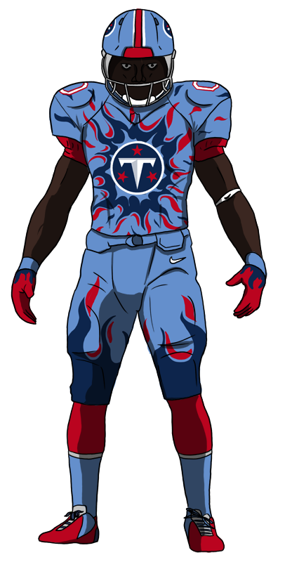 Titans Scheduled For Uniform Alterations In 2018