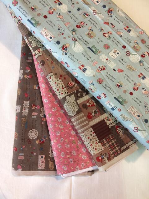 nuevas telas japonesas en La Tertulia del Patch
