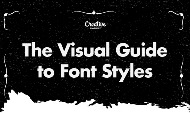 The Visual Guide To Font Styles