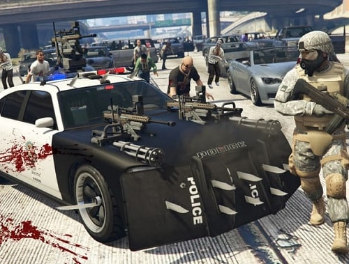 GTA 5 Online - Mod Zumbie