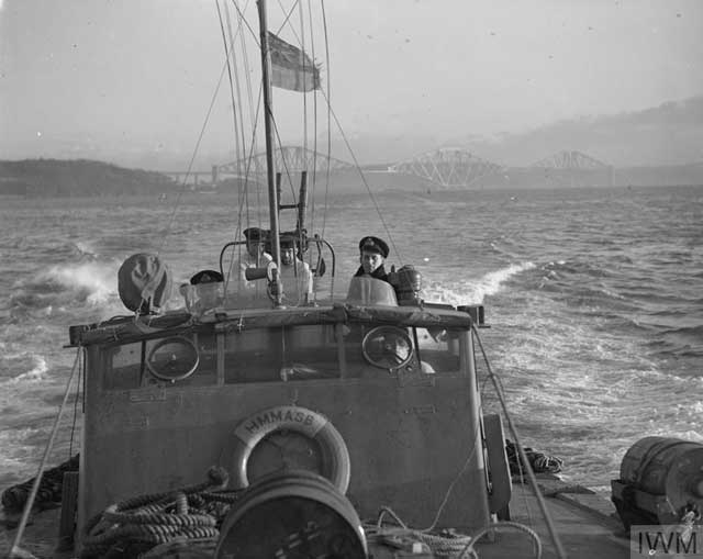 British torpedo boat in the Firth of Forth, 5 January 1942 worldwartwo.filminspector.com