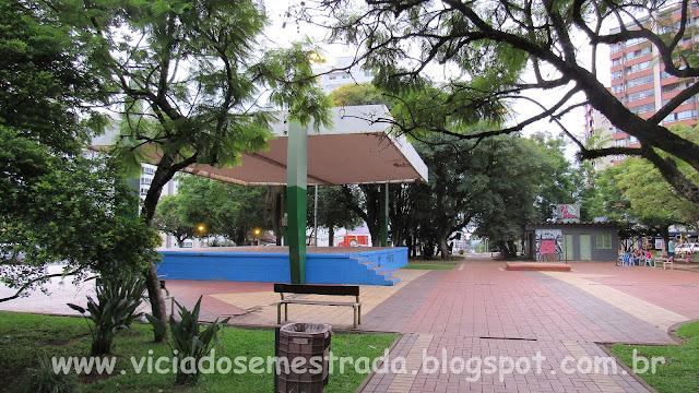 Praça Jaime Lago, Centro de Erechim