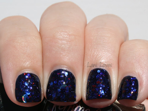 Femme Fatale Friday - Wolfsbane Swatches & Review (Plus Rescue Beauty Lounge Piu Mosso!)
