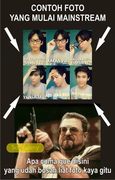 Gambar Meme Komik Lucu Terbaru