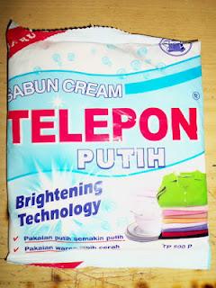 """Merek Sabun Lucu """"TELEPON"""""""