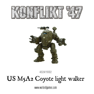Konflikt 47 - M5A2 Coyote Light Walker