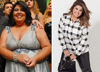 Atriz Fabiana Karla revela a dieta que fez para emagrecer mais de 20 kg