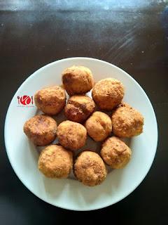 How to Make Cocoyam Balls 17