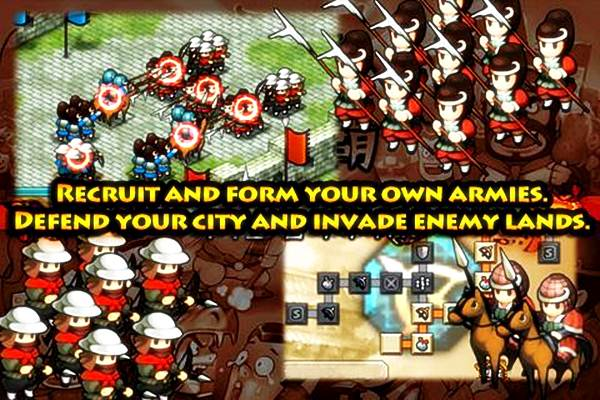 เกมสามก๊ก Dynasty War - Android Game