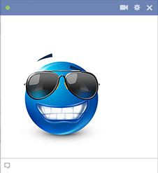 Sunglasses Facebook Sticker