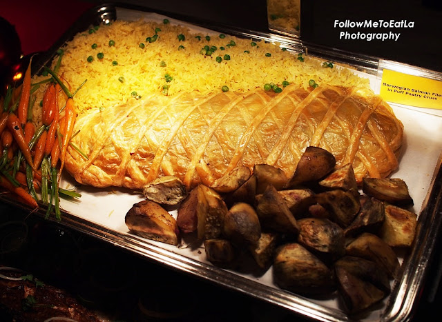 Norwegian Salmon Fillet In Puff Pastry Crust