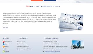شرح موقع إستثماري  يمنح فيزا كارد ٍVisa card ويدعم  bitcoin البتكوين