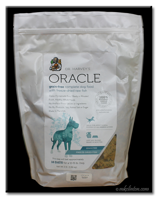 Dr. Harvey's Oracle Grain-Free Freeze-Dried Fish Formula