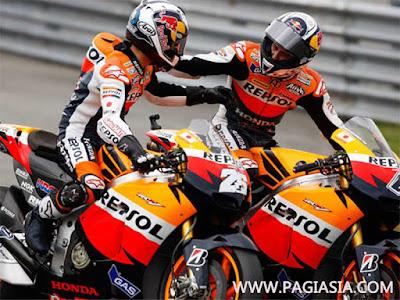 Pedrosa pebalap Honda Menguasai Sesi Latihan Kedua