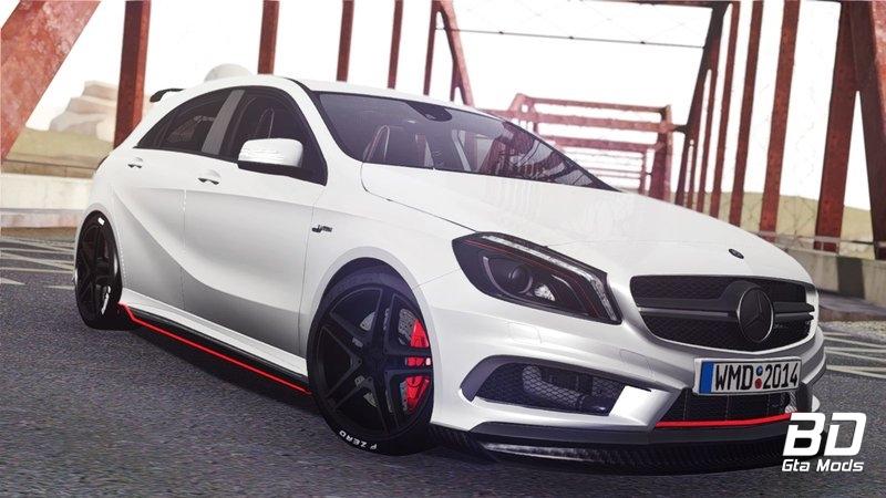 Download mod car Mercedes Benz A45 Edition1 - GTA San Andreas