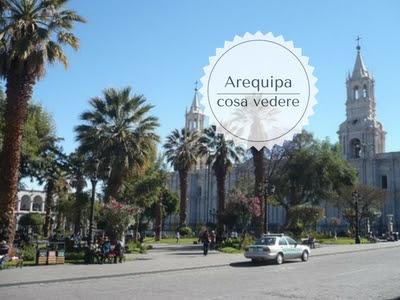 Plaza des Armas Arequipa
