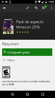 packMinecon