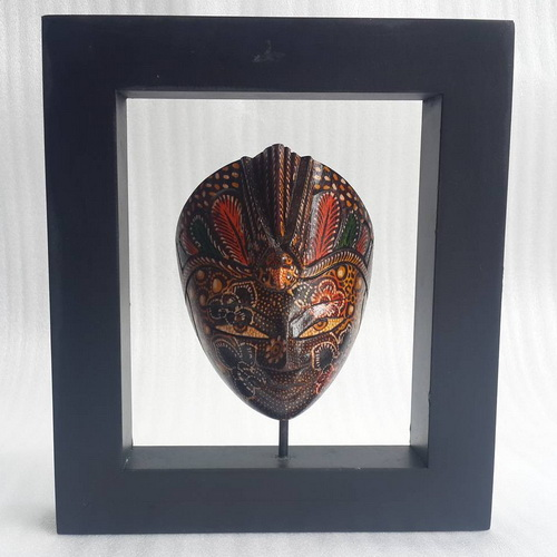 Tinuku.com Indra Jaya Craft studio awaken mask tradition in mystic rites into works of contemporary indoor décor