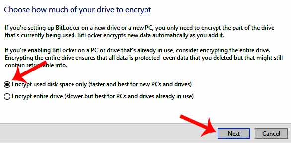 how to protect your pendrive with password