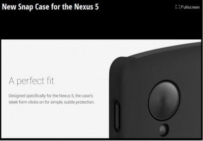 Casing Snap Case Untuk Google Nexus 5 Kini Dijual di Google Play Store