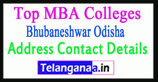 Top MBA Colleges in Bhubaneshwar Odisha