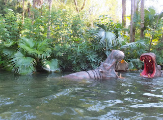 Magic Kingdom Jungle Cruise Hippo