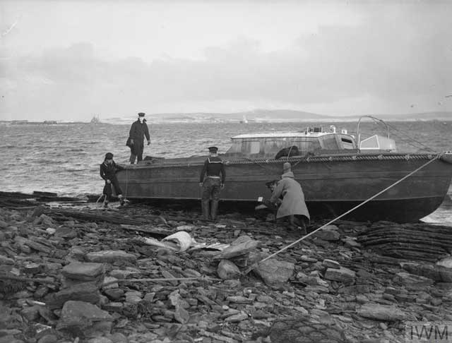 Attempting to rescue a ship stranded by a storm in Scapa Flow on 5 January 1942 worldwartwo.filminspector.com