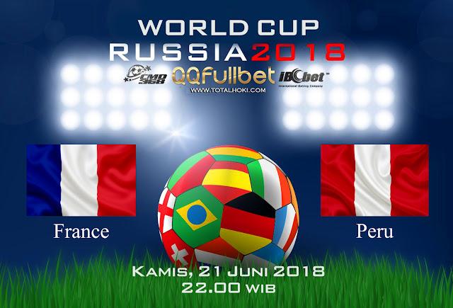 BOLA88 - PREDIKSI BOLA PIALA DUNIA : PRANCIS VS PERU 21 JUNI 2018 ( RUSSIA WORLD CUP 2018 )