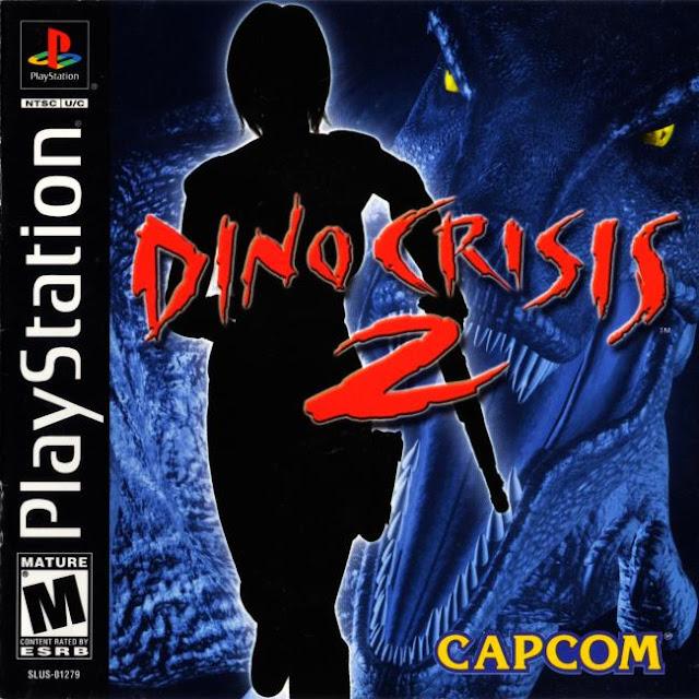 Dino Crisis 2 PSX - Portada