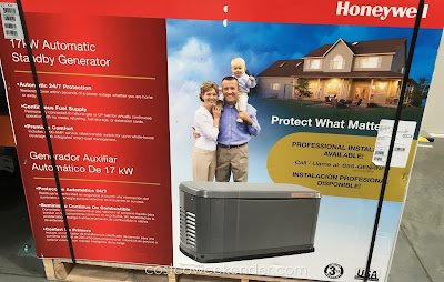 Never be without power with the Generac Honeywell 17kW Automatic Standby Generator